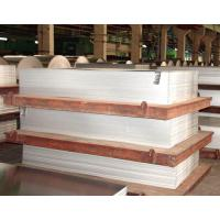 Buy cheap 0.1MM / 200MM Flat Aluminum Plate 6063 T651 With Polished Surface product