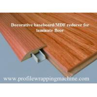 Buy cheap Melamine wood trim Flooring Reducer mold wrapping machine product