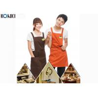 Buy cheap Personalised Kitchen Custom Cooking Aprons Embroidery With Twill Fabric product