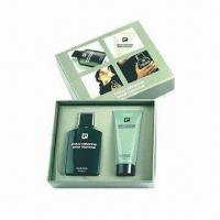 Buy cheap Face Cream Gift Box, Made of PU Leather, Greyboard and Mirror product