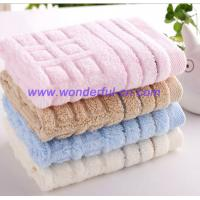 Customized small blue decorative bulk hand towels manufacturer