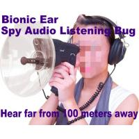 Buy cheap Bionic Ear Remote Sound Recorder 100 meters headphone Spy Audio Listening Amplifier Bug product