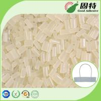 Buy cheap Viscosity Resin Yellowish Hot Melt Adhesive Pellets For Paper Handle Attachment product