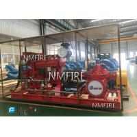 Buy cheap Ul / Fm End Suction Split Case Fire Pump , Diesel Engine Fire Pump 750 Gpm Capacity from wholesalers