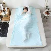 Buy cheap Anti - Bacteria Sleeping Bag Inner Sheet Environmental Protection For Adults product
