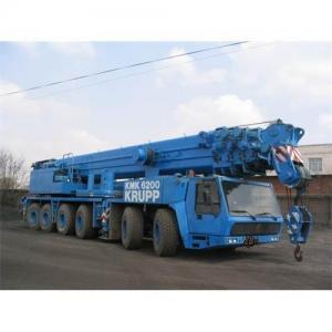 Quality Used crane krupp kmk6200 ,krupp used crane kmk6200,used kurrp mobile crane for sale