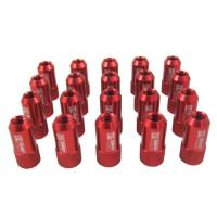 Buy cheap Red 40mm Aluminum Racing Wheel Lug Nuts With Key / Lock For Honda product