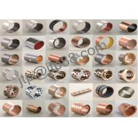 Buy cheap High Precision Copper Plating Bronze Sleeve Bearings Various Size product