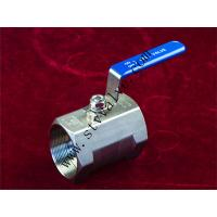 China 1 PC Screwed End Ball Valve wholesale