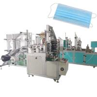 Buy cheap Automatic Disposable Civil Face Mask Manufacturing Machine 3 Player OEM product