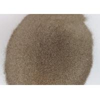 China F24 F30 Brown Aluminum Oxide Abrasive Media Magnetic Material 0.02% Max on sale
