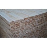 Buy cheap Fir Core Melamine Paper Faced Laminated Block Board For Furniture Cabinet Use product