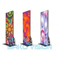 Buy cheap Flat Led Poster Screen P2.5 3840Hz Smart Control Wifi 3/4G Mobile Phone APP product