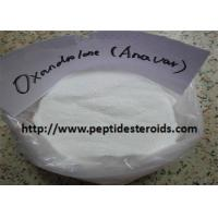 China Oxandrol / Anavar Cycle Oral Anabolic Steroids For Muscle Building CAS 53-39-4 wholesale