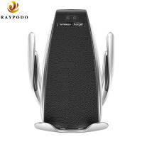 Buy cheap Phone Holder Qi Wireless Cell Phone Charger 10W Fast Infrared Automatic from wholesalers