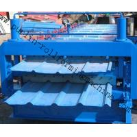 Buy cheap Metal Roofing Double Layer Roof Tile Roll Forming Machine, Professional Durable Roof Tile Bending Machine product