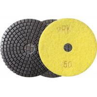 Buy cheap 100mm 4 Inch Diamond Wet Resin Polishing Pads High Efficient disc product