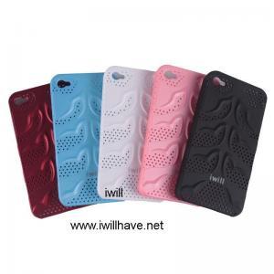 iphone4gのための裏表紙の皮の箱