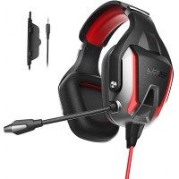 China Ps4 Xbox 50mm Onikuma K12 Gaming Headset With LED Light on sale