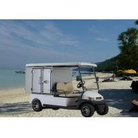 Buy cheap Aluminum Box Utility Golf Cart Street Legal With 2 Seats / Cargo Bed Battery Powered product