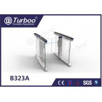 Buy cheap Swing RFID Barrier Gate Automatic Systems Turnstiles Problem Self Checking Function product