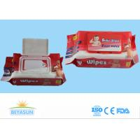 Buy cheap Spunlace Non Woven Wet Wipes Z / C Fold , Portable Travel Baby Face Wipes product