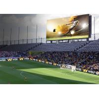 Buy cheap IP65/IP54 Perimeter Led Screen , P10 SMD3535 Football Stadium Advertising Boards product