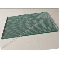 Buy cheap Hookstrip Flat Rock Shaker Screen For Model 2000 Shale Shaker Solids Control System product