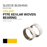 Buy cheap PTFE Kevlar Woven Sleeve Bearings | Purchase Order Now 30% Off 1 Order product