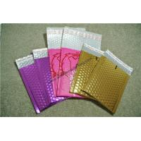 Quality Moisture Proof  Gold Metallic Bubble Mailers 295x435mm for sale