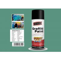 Buy cheap Apple Green Color Graffiti Spray Paint 400ml Filled With MSDS Certificate product