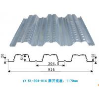 Hot dipped Galvanized Floor Metal Decking Sheet for large-span houses