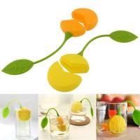 Buy cheap New Lemon Silicone Loose Tea Strainer Herbal Spice Infuser Filter Tools product