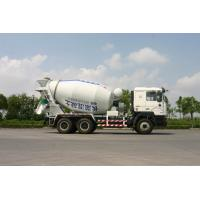 Buy cheap 8 / 9 / 10 Cubic Self Loading Concrete Mixing Truck Shanxi Auto (6*4) product