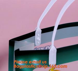 Buy cheap Supermarket Soft Loop Handle Shopping Pe Resealable Pp Tote Plastic Waterproof Bag,PP Plastic Handle Bag with UV Printin product