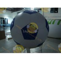 Buy cheap Inflatable Advertising Sport Balloons Large Football Shape for Outdoor Events product