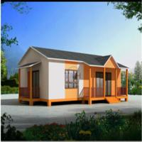 Buy cheap Ecnomic Light Steel Prefabricated House for Villa Style (TPA-V39) prefabricated house product