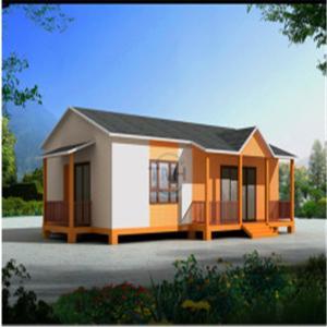 Buy cheap Ecnomic Light Steel Prefabricated House for Villa Style (TPA-V39) prefabricated house product