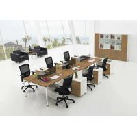 Buy cheap Pine Veneered Particle Board Office Furniture Desk For Commercial Work Building product