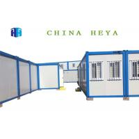 Buy cheap Ready Made Steel Container Prefab Camp Houses Easily Transported Grade 4 Fire Proof product