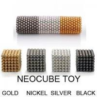 Buy cheap N35 Neocube toys with Ni,silver,gold plating product