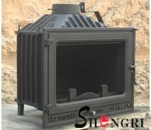 12kw insert wood burner cast iron fireplace
