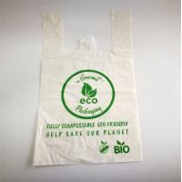 Buy cheap Biodegradable Shopping Bags Earth Friendly Compostable Carry Bags product