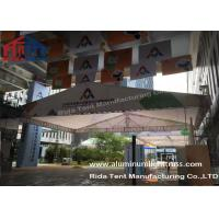 Buy cheap Outdoor Aluminum Stage Truss LED Screen Lighting Truss Crank StandsWhite Fabric product