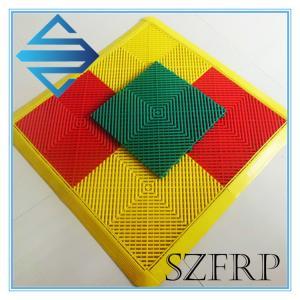 China Interlocking Plastic Floor Tiles on sale