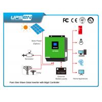 China 24vdc To 220vac off Grid Solar Power Inverter with Numerous protection functions wholesale