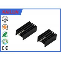 Quality Led Aluminum Extrusion Profiles Flat Heat Sink For Led Street Light / 18 Watt Electronic Fin Shell for sale