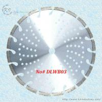 Buy cheap Laser Welded Diamond Cutting Disc for Concrete and Asphalt - DLWB03 (Oblique key slot) product