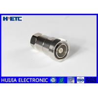 """Buy cheap RF Straight Female Din Connector , TFE Insulators 50ohm 1/2"""" Coaxial Cable Adapter product"""