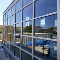 Buy cheap KLUK Steel Frame Aluminum Curtain Walls Double Glass Lightning Protection product